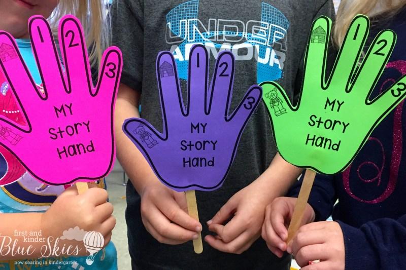 Story Retell Hands
