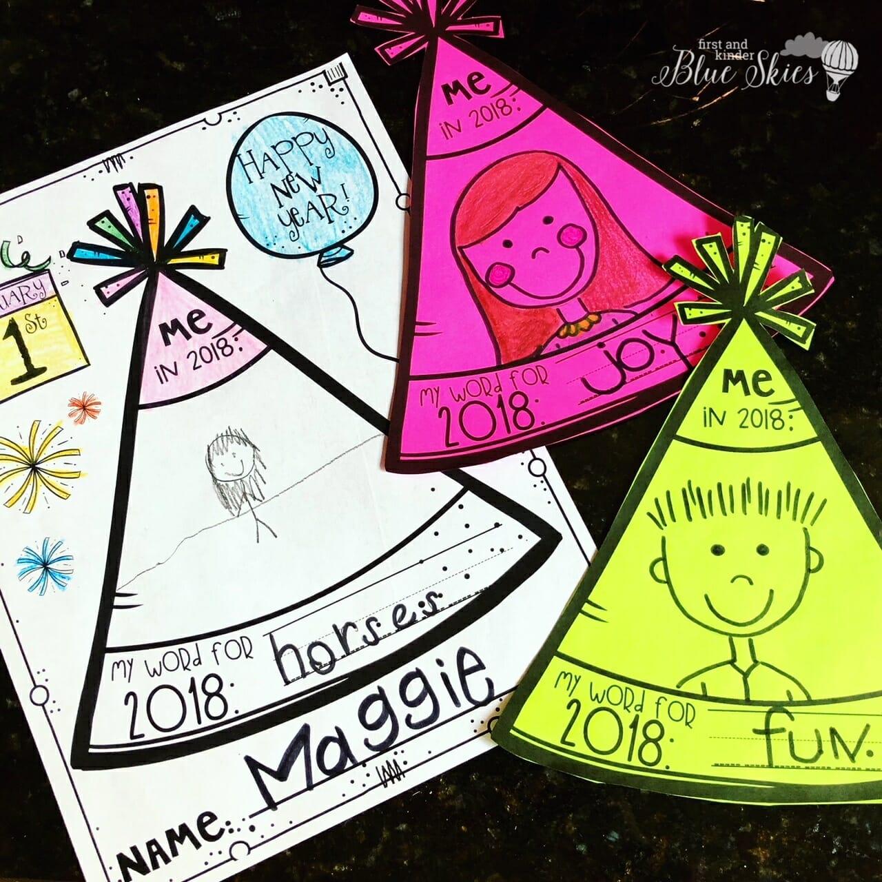 Happy New Year Writing Activities Freebie