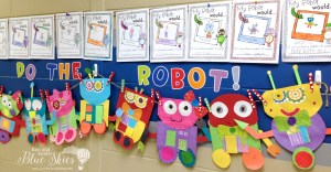 Robot Close Read and Crafts