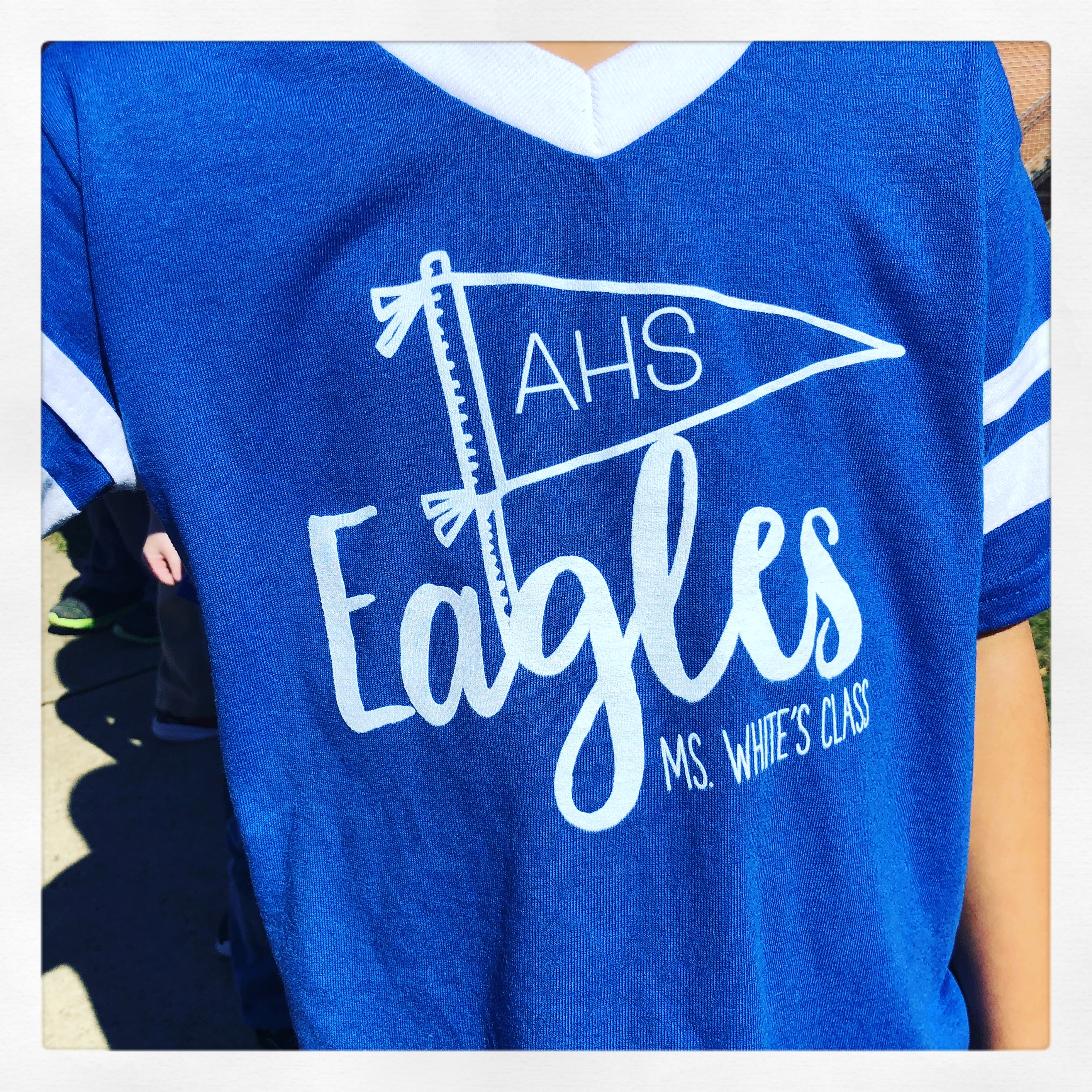 Class T Shirts By Custom Ink First Grade Blue Skies
