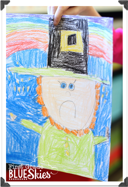 It is a picture of Dynamic Directed Drawing Leprechaun