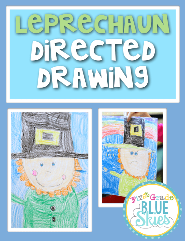 This is an image of Adaptable Directed Drawing Leprechaun