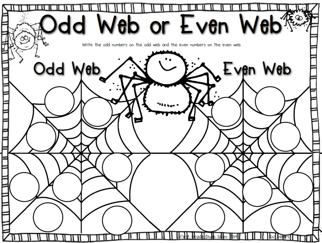 Odd And Even Webs Freebie And My Week