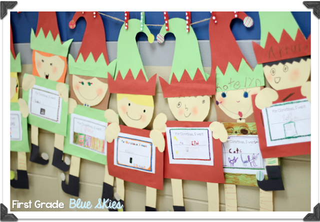classroom christmas craft ideas crafts in the classroom elves grade 3657