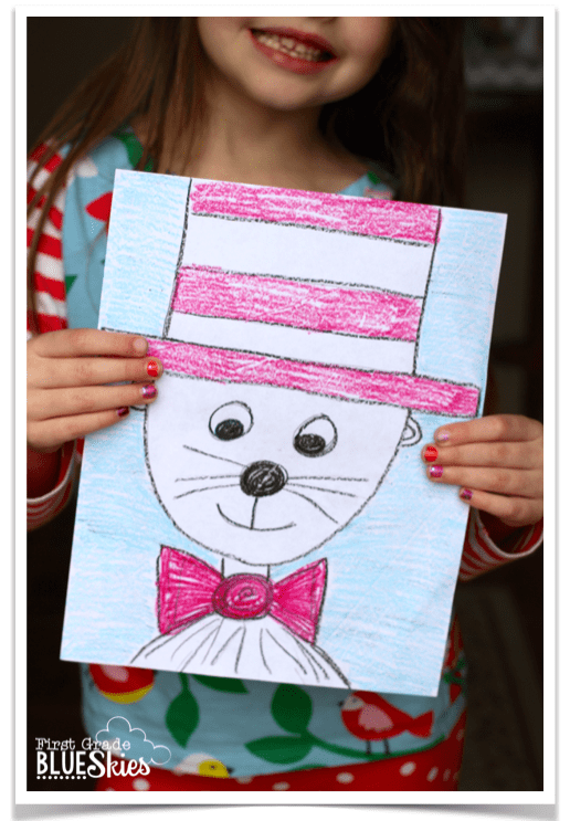 Directed Drawing Tutorial For Reading Celebration Week