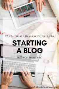 This guide shows you how to start a WordPress blog in 15 minutes or less! You'll be surprised at how easy it is.
