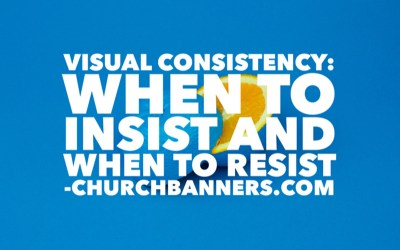 Visual Consistency: When to insist and when to resist
