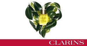 Clarins Plant to Product Logo
