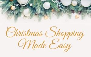Christmas Shopping Made Easy