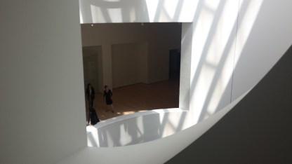Reflections of natural light at SFMOMA.