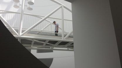 Oculus Bridge at SFMOMA.