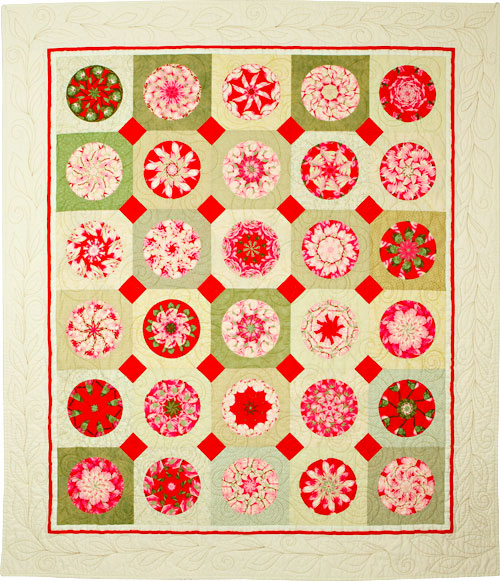 V8 Quilt by Dawn White at First Light Designs