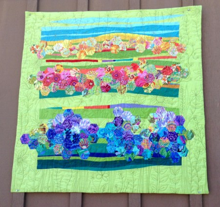 one of the Streams of Color challenge quilts