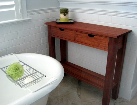 2013-13, console from the shower