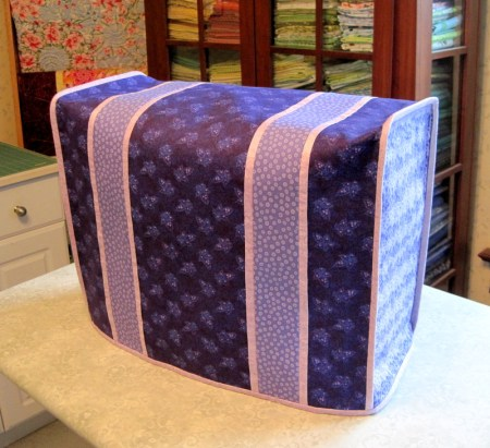 2013-12, Vickie's sewing machine cover