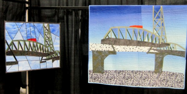 Bridge Challenge, Linda Dyer's side by side