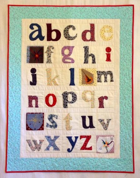 Susan's quilt, front