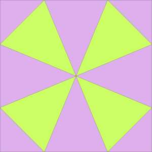basic kaleidoscope block