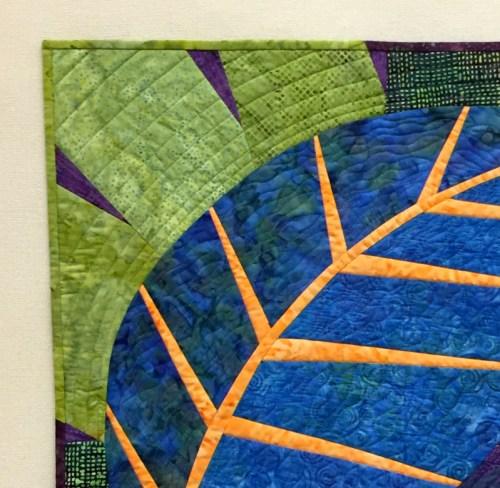 big leaf upper left corner