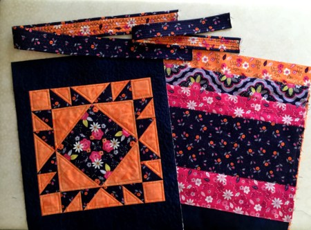Jr Billie Bag back panel and pockeets