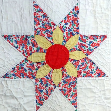 floral star block 6-001