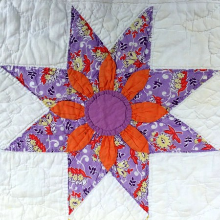 floral star block 8-001
