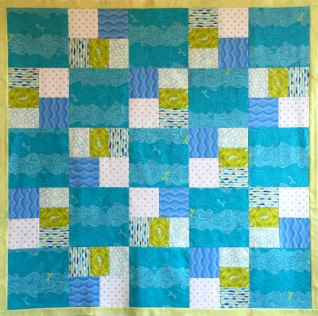 baby quilt final choice
