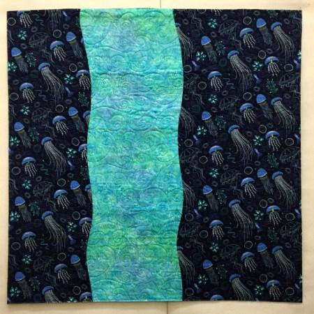 Stefan's quilt, back