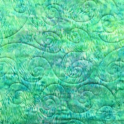 Stefan's quilt, detail on back
