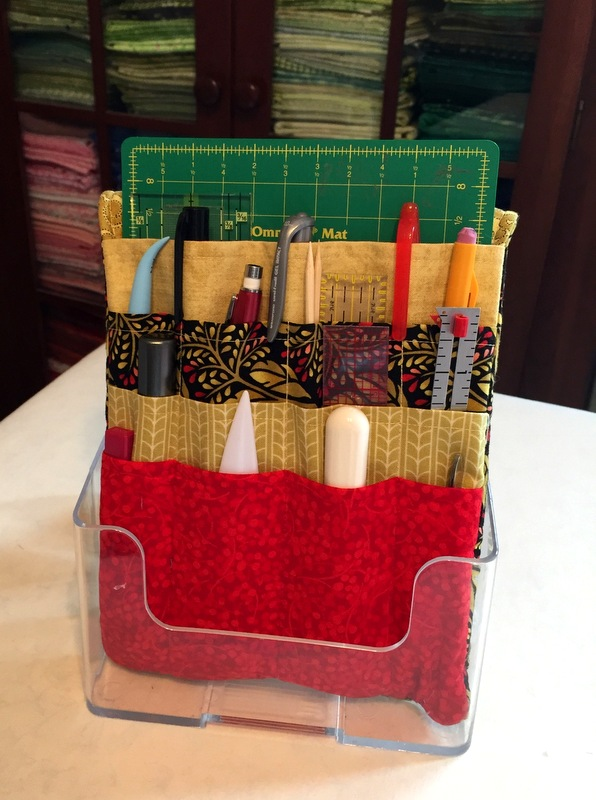 sewing tool caddy » First Light Designs