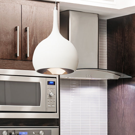 parma white cob led kitchen pendant lighting
