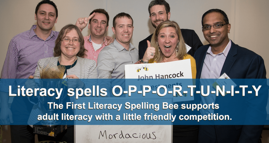 First Literacy Spelling Bee Page Header
