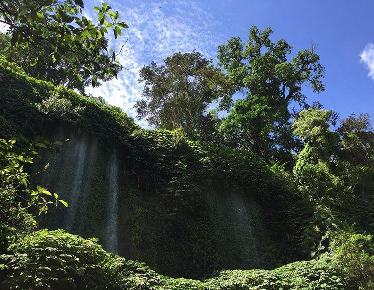Air Terjun Jeruk Manis di Lombok Timur, sumber ig poppyimo