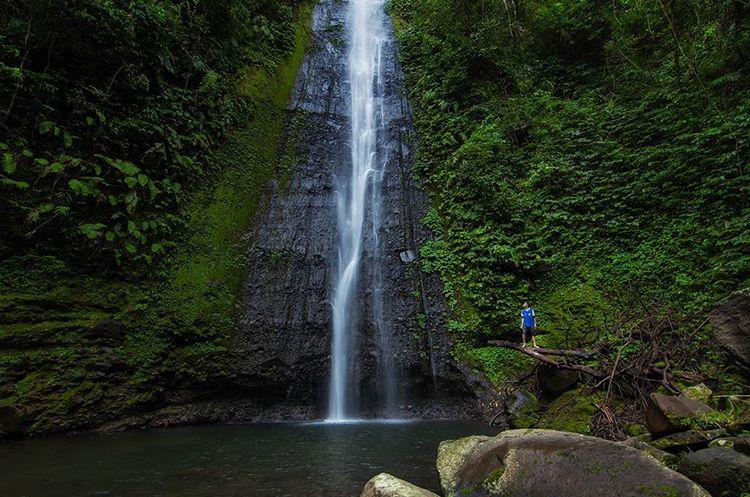 Air Terjun Timponan di Lombok Barat, sumber ig zlatan_rama