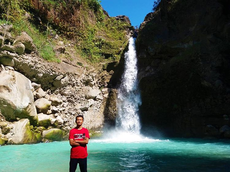 Foto Air Terjun Madu di Lombok Timur, sumber ig anas_fw