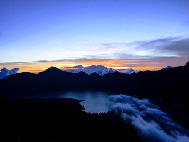Palawangan Sembalun di Gunung Rinjani, sumber ig beathejo