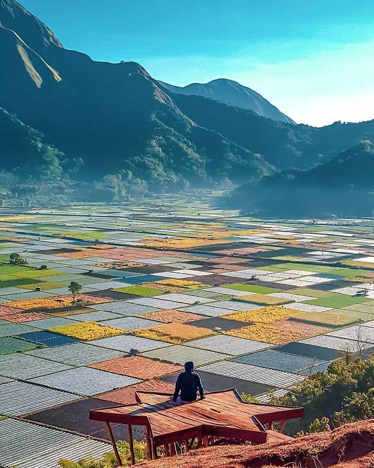 Desa Sembalun Lombok, sumber ig sapanusantara