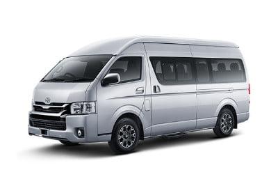 Tempat Menyewa Toyota Hiace