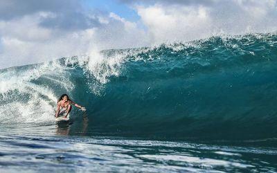 Berwisata Selancar di Pantai Bangko-Bangko Lombok