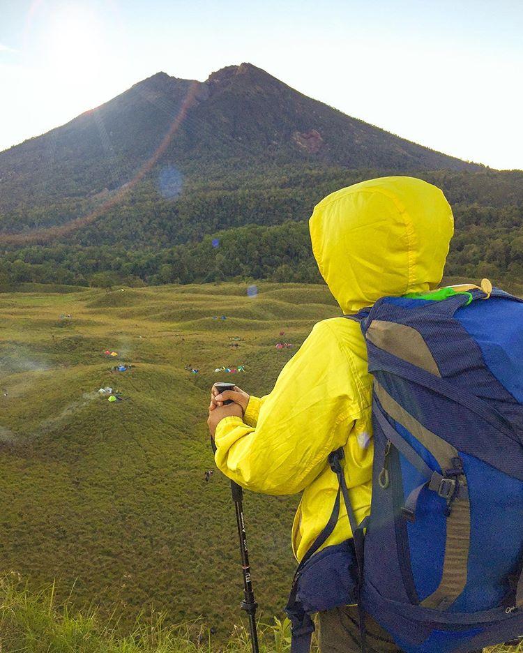 Gunung Rinjani Lombok, sumber ig elgamartadewi