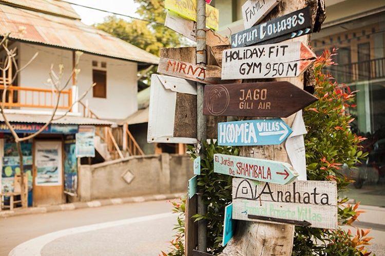 Petunjuk Arah Lokasi di Lombok, sumber ig soulandkith