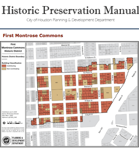First Montrose Commons Historic District