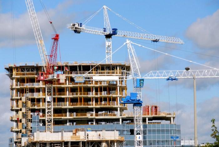 hotel constructon building in progress