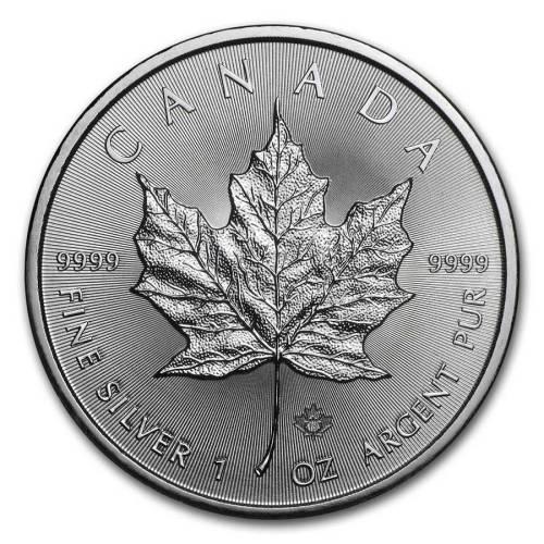 Canadian Silver Maple Leaf