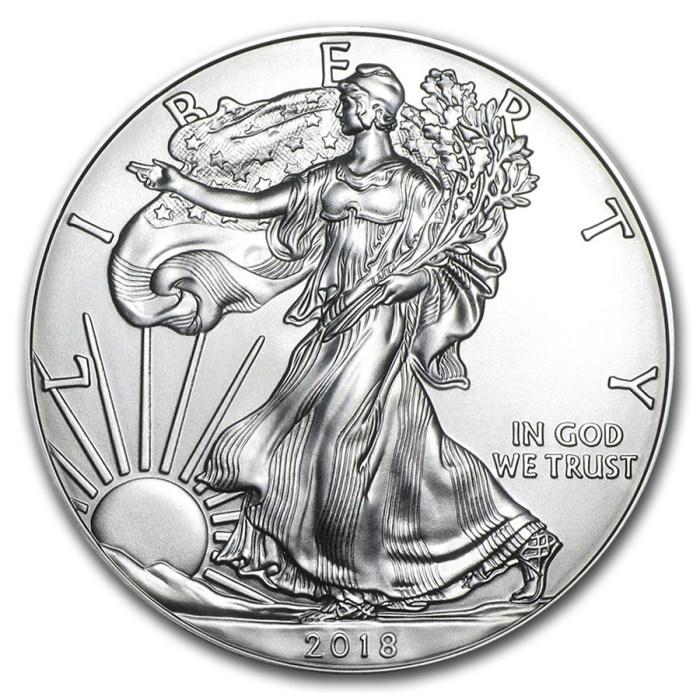 1 oz Silver Eagle Obverse