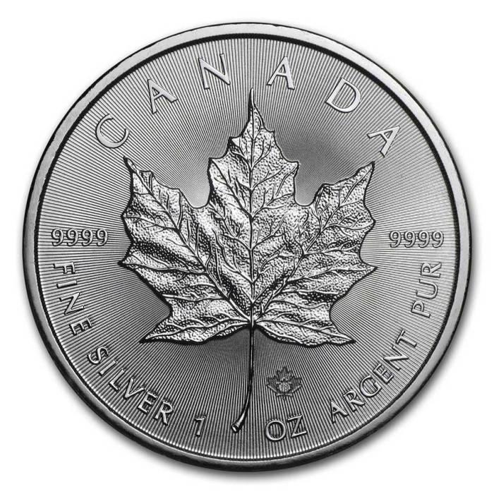 500 oz Silver Maple Leafs
