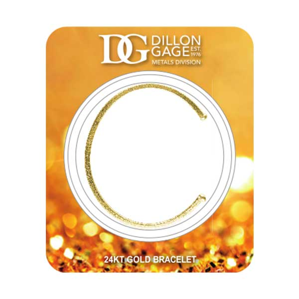 1 oz Gold Bracelet Polished Finish