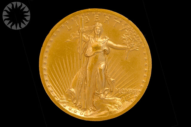 United States, $20, 1907