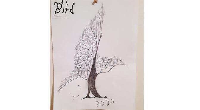 Nitānis otāpasinahikīwin – my daughter's drawing