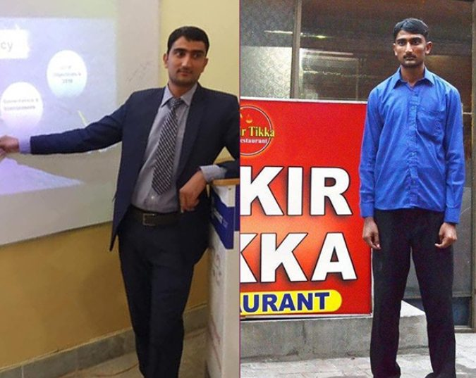 Ansar Ali is now a successful man